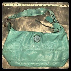 Real coach shoulder purse